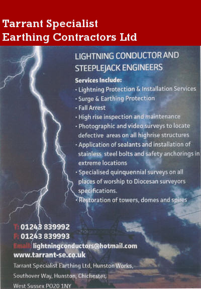 Tarrant Specialist Earthing Contractors Ltd Services